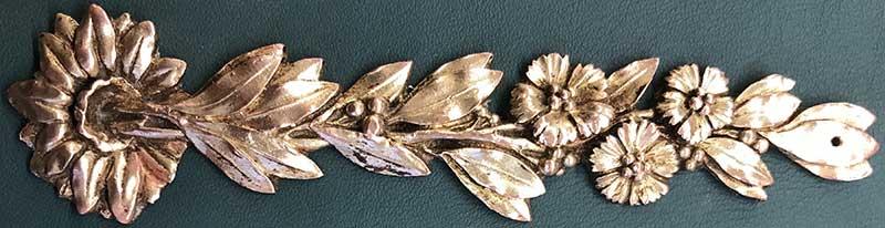 Restaurer bronze ornement Lyon après restauration